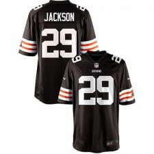 Nike Brandon Jackson Cleveland Browns Historic Logo Youth Game Jersey - Brown