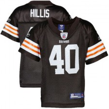 Reebok Peyton Hillis Cleveland Browns Historic Logo Infant Replica Jersey - Brown