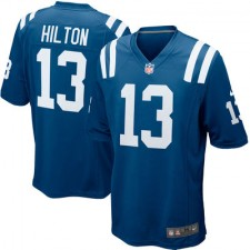 Mens Indianapolis Colts T.Y. Hilton Nike Royal Blue Game Jersey