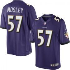 Men's Baltimore Ravens C.J. Mosley Nike Purple Limited Jersey