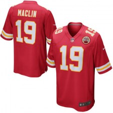 Men's Kansas City Chiefs Jeremy Maclin Nike Red Game Jersey