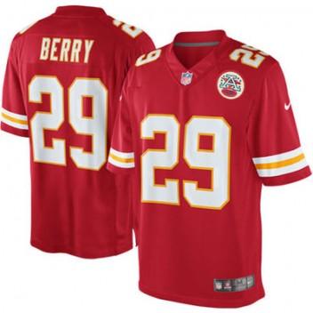 Herren Kansas City Chiefs Eric Berry Nike Rot Team Farbe Limited Günstig Trikot