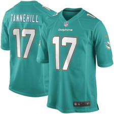 Mens Miami Dolphins Ryan Tannehill Nike Aqua Game Jersey