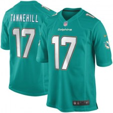 Youth Miami Dolphins Ryan Tannehill Nike Aqua Team Color Game Jersey