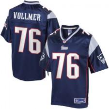 Pro Line Herren New England Patriots Sebastian Vollmer Team Farbe Günstig Trikot