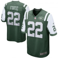 Men's New York Jets Matt Forte Nike Green Game Jersey