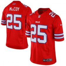 Men's Buffalo Bills LeSean McCoy Nike Red Color Rush Limited Jersey