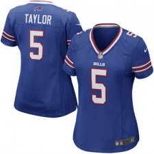 Women's Buffalo Bills Tyrod Taylor Nike Royal Game Jersey
