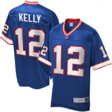 Men's Pro Line Buffalo Bills Jim Kelly Retired Player Jersey