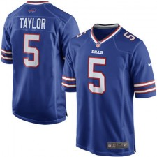 Men's Buffalo Bills Tyrod Taylor Nike Royal Game Jersey