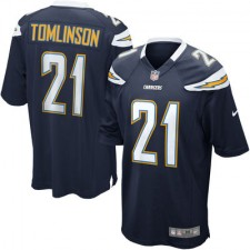 Men's San Diego Chargers LaDainian Tomlinson Nike Navy Retired Player Game Jersey