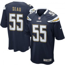 Mens San Diego Chargers Junior Seau Nike Navy Retired Player Game Jersey