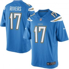 Men's San Diego Chargers Philip Rivers Nike Light Blue Alternate Limited Jersey