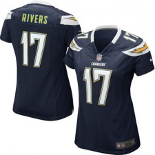 Women's San Diego Chargers Philip Rivers Nike Navy Blue Game Jersey