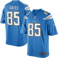 Men's San Diego Chargers Antonio Gates Nike Powder Blue Limited Jersey
