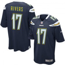 Mens San Diego Chargers Philip Rivers Nike Navy Blue Game Jersey