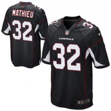 Youth Arizona Cardinals Tyrann Mathieu Nike Black Alternate Game Jersey