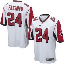 Men's Atlanta Falcons Devonta Freeman Nike White Game Jersey