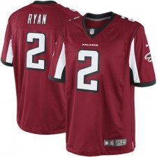 Men's Atlanta Falcons Matt Ryan Nike Red Limited Jersey