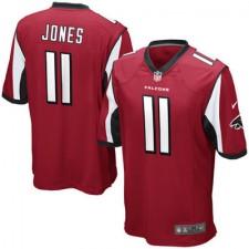 Mens Atlanta Falcons Julio Jones Nike Red Game Jersey