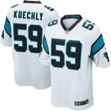 Mens Carolina Panthers Luke Kuechly Nike White Game Jersey