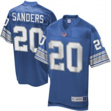 Men's Pro Line Detroit Lions Barry Sanders Retired Player Jersey