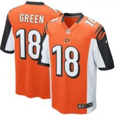 Youth Cincinnati Bengals AJ Green Nike Orange Alternate Game Jersey