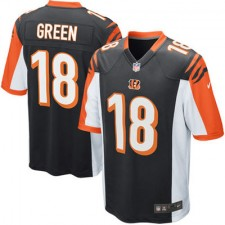 Mens Cincinnati Bengals AJ Green Nike Black Game Jersey
