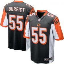 Mens Cincinnati Bengals Vontaze Burfict Nike Black Game Jersey