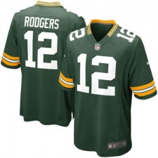 Nike Aaron Rodgers Green Bay Packers Youth Game Jersey - Green
