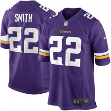 Mens Minnesota Vikings Harrison Smith Nike Purple Game Jersey