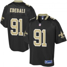 Pro Line Mens New Orleans Saints Kasim Edebali Team Color NFL Jersey