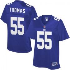 Pro Line Women's New York Giants JT Thomas Team Color Jersey