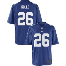 Youth New York Giants Antrel Rolle Nike Royal Blue Team Color Game Jersey