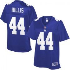 Pro Line Women's New York Giants Peyton Hillis Team Color Jersey-