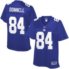 Pro Line Women's New York Giants Larry Donnell Team Color Jersey