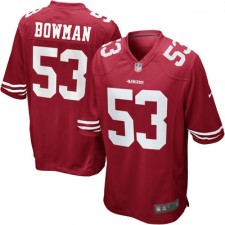 Men's San Francisco 49ers NaVorro Bowman Nike Scarlet Team Color Limited Jersey