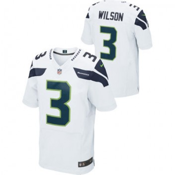 huge selection of 8d846 9fb04 youth nike seattle seahawks 3 russell wilson limited white ...