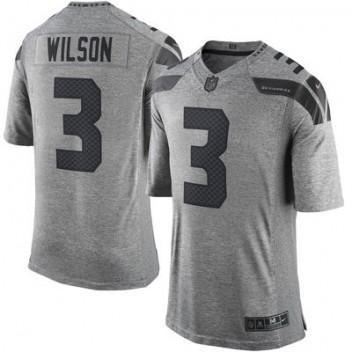sale retailer a631a 30c58 Herren Seattle Seahawks Russell Wilson Nike Gray Gridiron ...