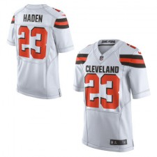 Men's Cleveland Browns Joe Haden Nike White Limited Jersey