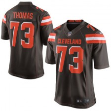 Men's Cleveland Browns Joe Thomas Nike Brown Limited Jersey