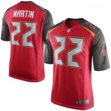 Mens Tampa Bay Buccaneers Doug Martin Nike Red Game Jersey