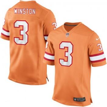 buy online 08638 33408 Herren Tampa Bay Buccaneers Jameis Winston Nike Orange Elite ...