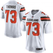 Men's Cleveland Browns Joe Thomas Nike White Game Jersey
