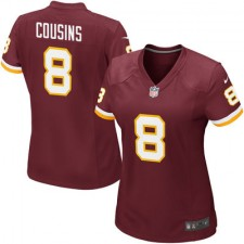 Women's Washington Redskins Kirk Cousins Nike Burgundy Game Jersey