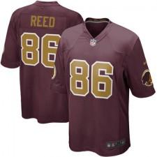 Men's Washington Redskins Jordan Reed Nike Burgundy Alternate Game Jersey