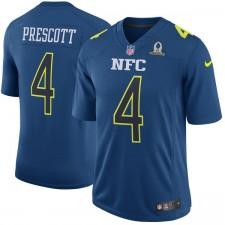 Männer NFC Dak Prescott Nike Marine 2017 Pro Bowl Game Trikot