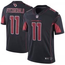 Herren Arizona Cardinals Larry Fitzgerald Nike Schwarz Farbe Rush Limitierte Trikot