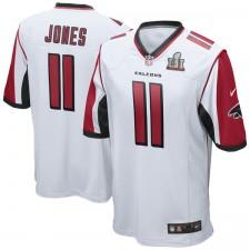 Herren Atlanta Falcons Julio Jones Nike weiß Superschüssel LI gebunden Game Trikot