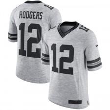 Herren Green Bay Packers Aaron Rodgers Nike grau Rost grau II Limited Trikot